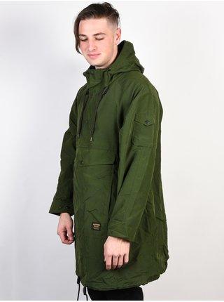 Burton MB WARREN ANORAK RIFLE GREEN podzimní bunda pro muže - zelená