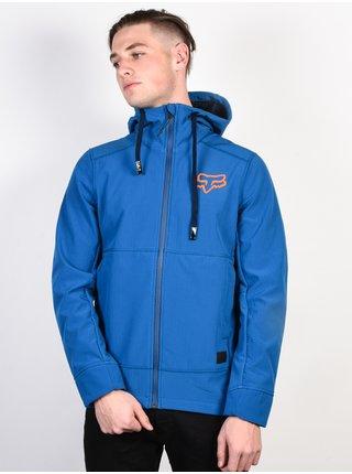 Fox Pit Dusty Blue podzimní bunda pro muže - modrá