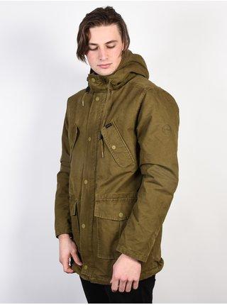 RVCA GROUND CONTROL BURNT OLIVE podzimní bunda pro muže - khaki