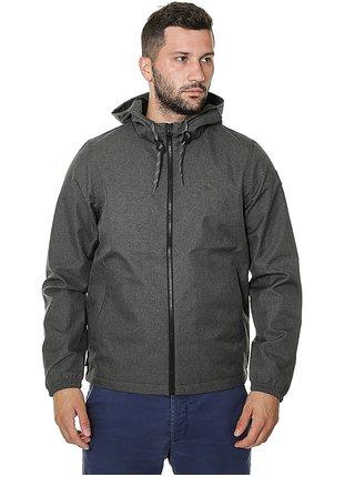 Element ALDER LIGHT FLINT BLACK HTR podzimní bunda pro muže - šedá
