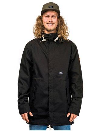 Horsefeathers ANDREW black podzimní bunda pro muže - černá