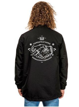 Horsefeathers HANFORD HFxNMD podzimní bunda pro muže - černá