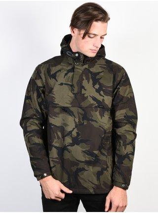 RVCA PROFOUND WOODLAND CAMO podzimní bunda pro muže - zelená