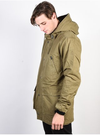 RVCA GROUND CONTROL II BURNT OLIVE podzimní bunda pro muže - khaki