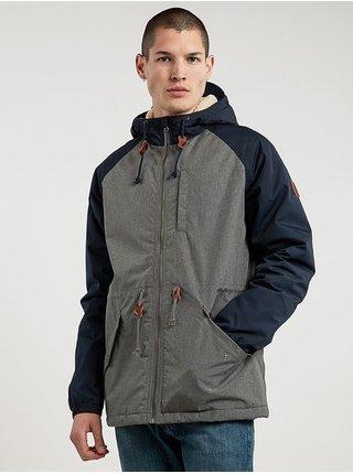 Element STARK MID GREY HTR podzimní bunda pro muže - šedá