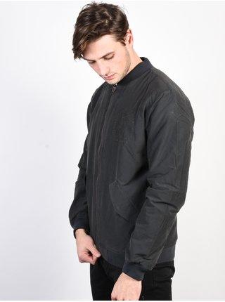 Quiksilver HAKATABAY TARMAC podzimní bunda pro muže - černá
