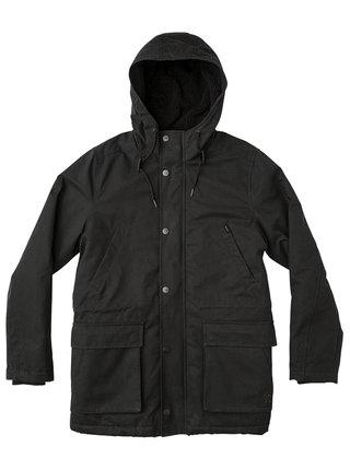 RVCA GROUND CONTROL II RVCA BLACK podzimní bunda pro muže - černá