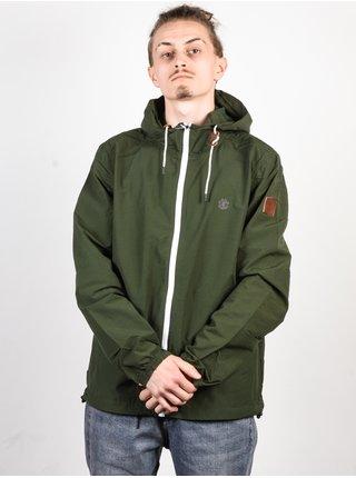 Element ALDER POPLIN OLIVE DRAB podzimní bunda pro muže - zelená