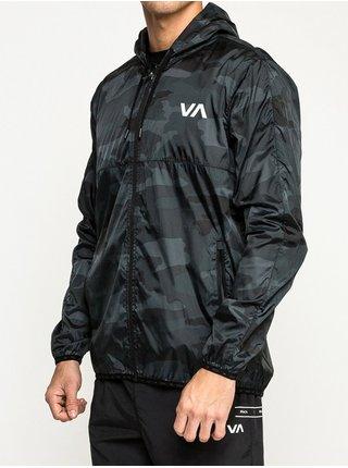 RVCA HEXSTOP IV CAMO podzimní bunda pro muže - šedá