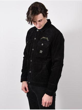 Billabong AI METALLICA washed black podzimní bunda pro muže - černá