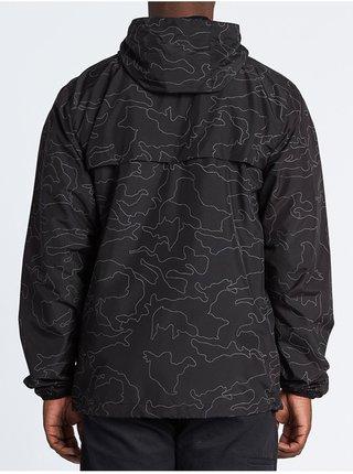 Billabong TRANSPORT PRINT CAMO podzimní bunda pro muže - černá