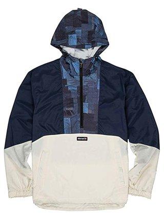 Element ALDER TOKYO POP off white podzimní bunda pro muže - modrá
