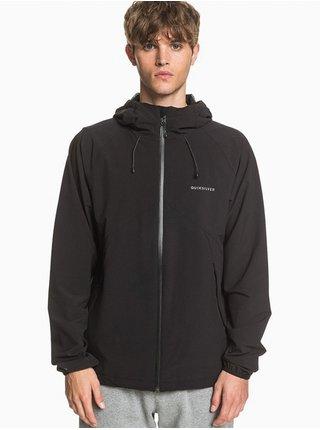 Quiksilver JAMBI black podzimní bunda pro muže - černá