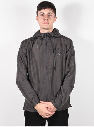 Spitfire CLASSIC SWIRL GRPHTE/BLK podzimní bunda pro muže - černá