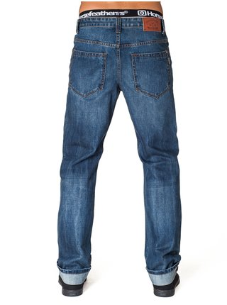 Modré straight fit džíny Horsefeathers GARAGE