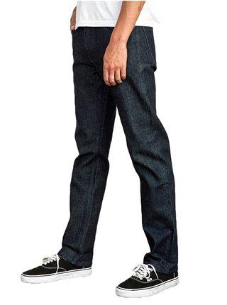 Tmavě modré pánské straight fit džíny RVCA WEEKEND