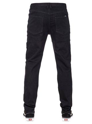 Černé straight fit džíny Horsefeathers VARUS