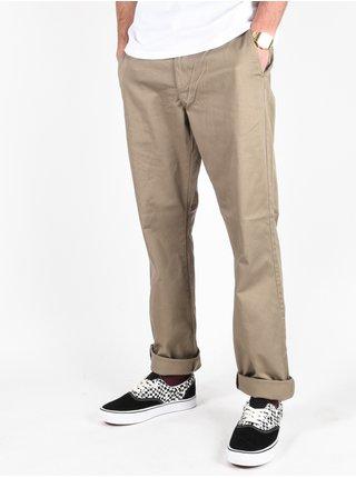 Billabong CARTER STRETCH CHINO DARK KHAKI plátěné kalhoty pánské - béžová