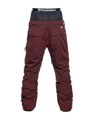 Horsefeathers CHARGER RAISIN pánské zimní kalhoty