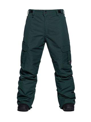 Horsefeathers HOWEL deep green pánské zimní kalhoty - zelená