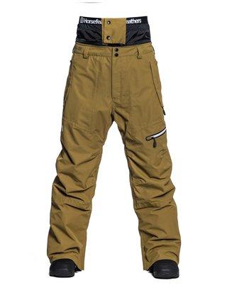Horsefeathers NELSON DULL GOLD pánské zimní kalhoty