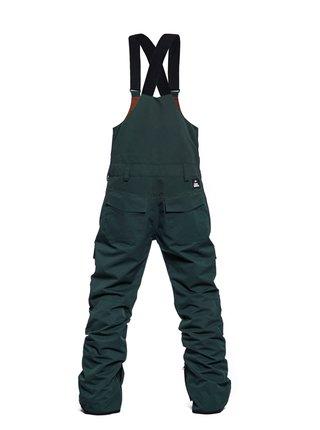 Horsefeathers MEDLER deep green pánské zimní kalhoty - zelená
