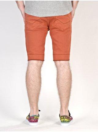 Etnies CLASSIC CLAY pánské riflové kraťasy - oranžová
