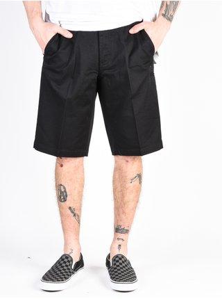 Fox Essex black plátěné kraťasy pánské - černá