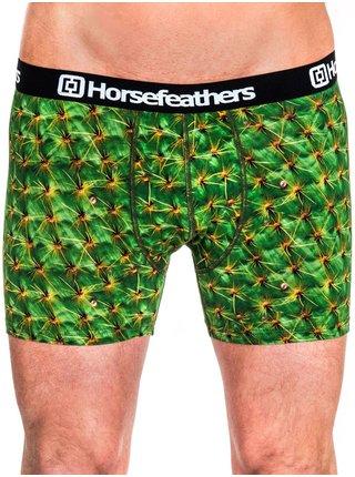 Horsefeathers SIDNEY  CACTUS boxerky pro muže - zelená