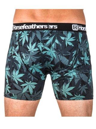 Horsefeathers SIDNEY herbs boxerky pro muže - zelená
