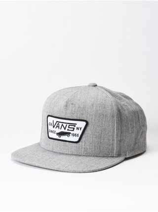 Vans FULL PATCH HEATHER GREY kšiltovka s rovným kšiltem - šedá