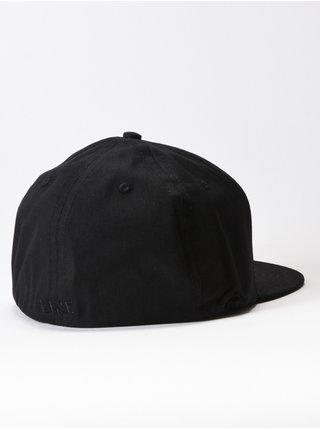 Line Elite black kšiltovka s rovným kšiltem - černá