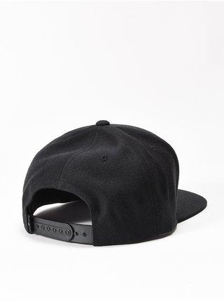 RVCA STANLEY black kšiltovka s rovným kšiltem - černá