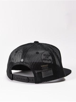 Element RECRUIT all black kšiltovka s rovným kšiltem - černá