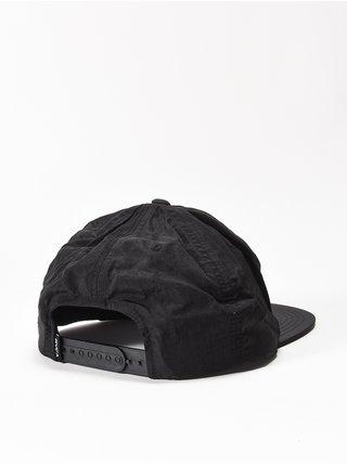 RVCA GRAPHIC PALM BLACK PRINT kšiltovka s rovným kšiltem - černá