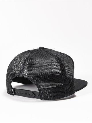 RVCA VA ATW PRINT black kšiltovka s rovným kšiltem - černá