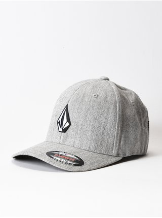 Volcom Full Stone Hthr Xfit grey vintage baseballová kšiltovka - šedá