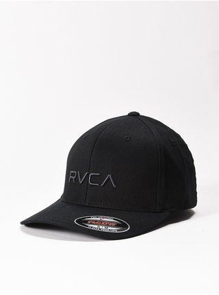 RVCA FLEX FIT black baseballová kšiltovka - černá