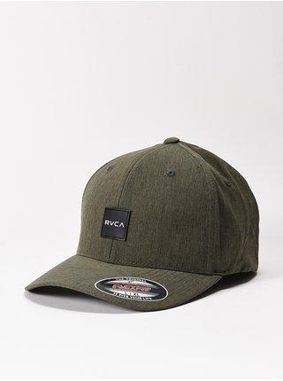 RVCA SHIFT olive baseballová kšiltovka - zelená