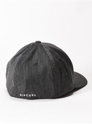 Rip Curl TEPAN WELD black/white baseballová kšiltovka - šedá
