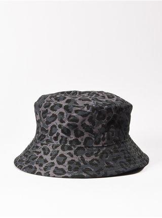Element TAM BUCKET LEOPARD CAMO klobouk - šedá
