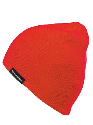 Horsefeathers YARD RED ORANGE pánská čepice - červená