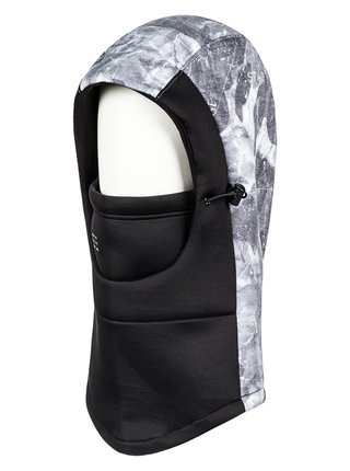 Quiksilver TECH BALACLAVA black kukla pod helmu - černá