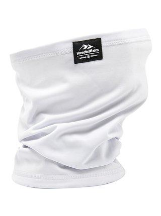 Horsefeathers NECK WARMER  white nákrčník - bílá