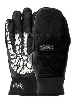 POW Every Day Mitt Schoph zimní palcové rukavice - černá