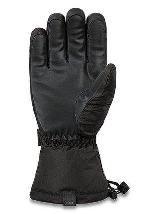 Dakine FRONTIER black pánské zimní prstové rukavice - černá