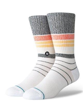 Stance ROBERT ORANGE pánské ponožky - bílá