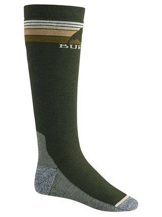 Burton EMBLEM forest night pánské sportovní ponožky - zelená