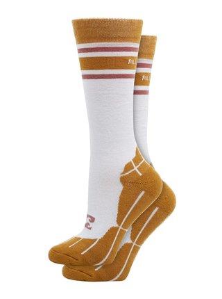 Billabong HAPPY WEEK snow pánské sportovní ponožky - bílá