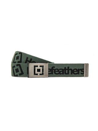 Horsefeathers IDOL olive pánský pásek - zelená